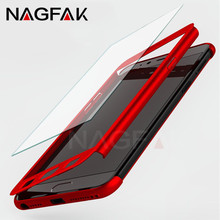 NAGFAK Luxury 360 Degree Full Cover Case For Samsung Galaxy S9 S8 Plus Note 8 S6 S7 Edge A5 A7 2016 Screen Protector Phone Case