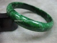 shitou 00148 NATURE BEAUTIFUL DARK GREEN stone stone BRACELET BANGLE