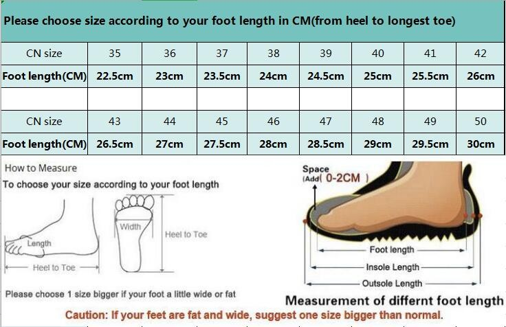 sneakers size CN