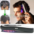 wholesale+retail 1pcs/lot Kit Power Grow Laser Cure Loss Therapy Laser Hair Comb Magic Comb Massage Free Shipping