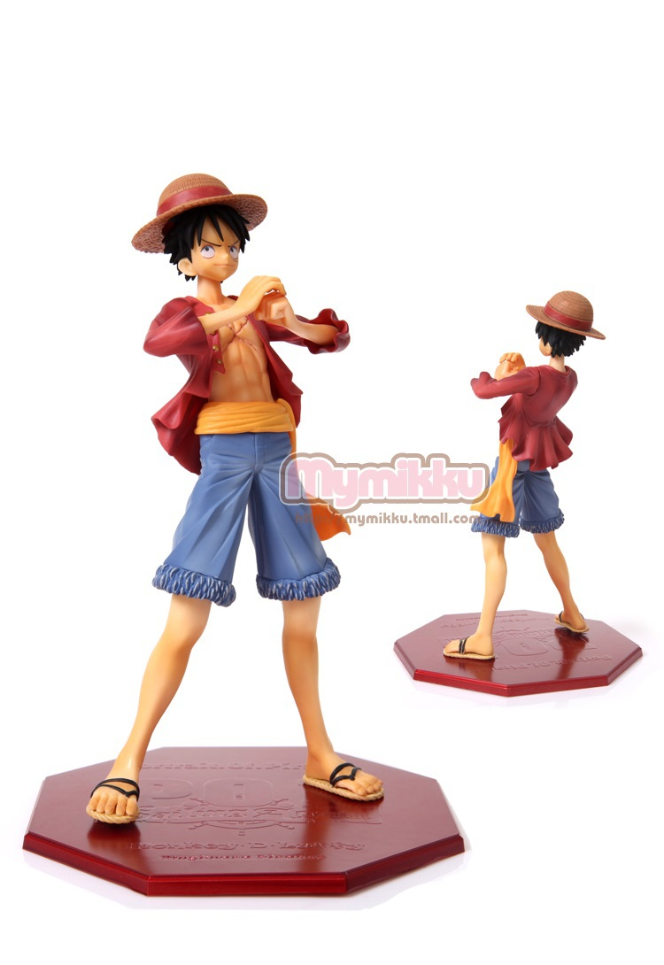 One Piece P.O.P Two years later Luffy Figure Sailing Again The New World 22cm new in box