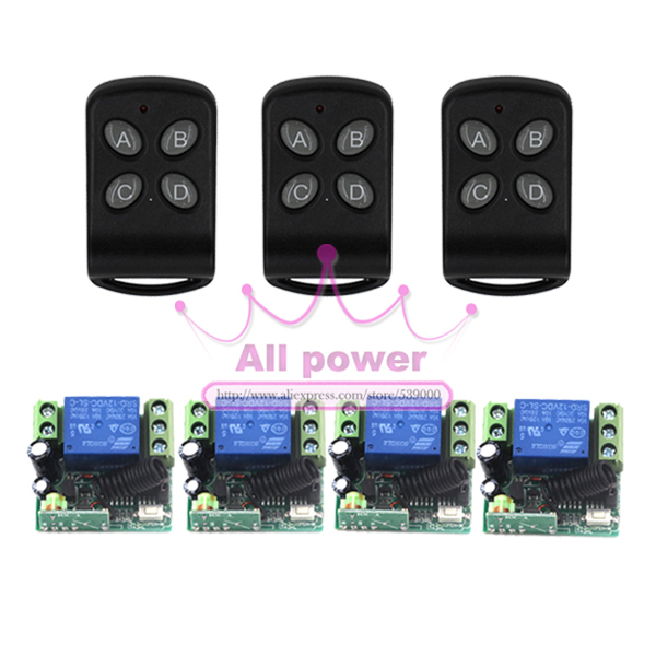 Wholesale Price, Retail, 1CH Digital Wireless Wall Switch Remote Control DC12V Intelligent Remote Control Switch wholesale wholesale remote control 30d 5d 20d 10d 5dmarkii