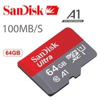 Sandisk Ultra Micro SD Card 64GB A1 Up To 100mb S Micro Sd Cartao De Memoria