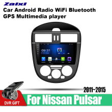 ZaiXi Android Car GPS Multimedia Player For Nissan Pulsar 2011~2015 car Navigation radio Video Audio WiFi Bluetooth