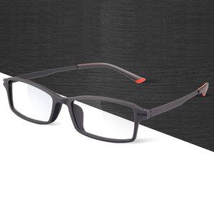 Image 1 - Reven Jate 7011 Full Rim Flexible Frame Pure Titanium Super Light Temple Legs Prescription Eyeglasses Frame Optical Glasses