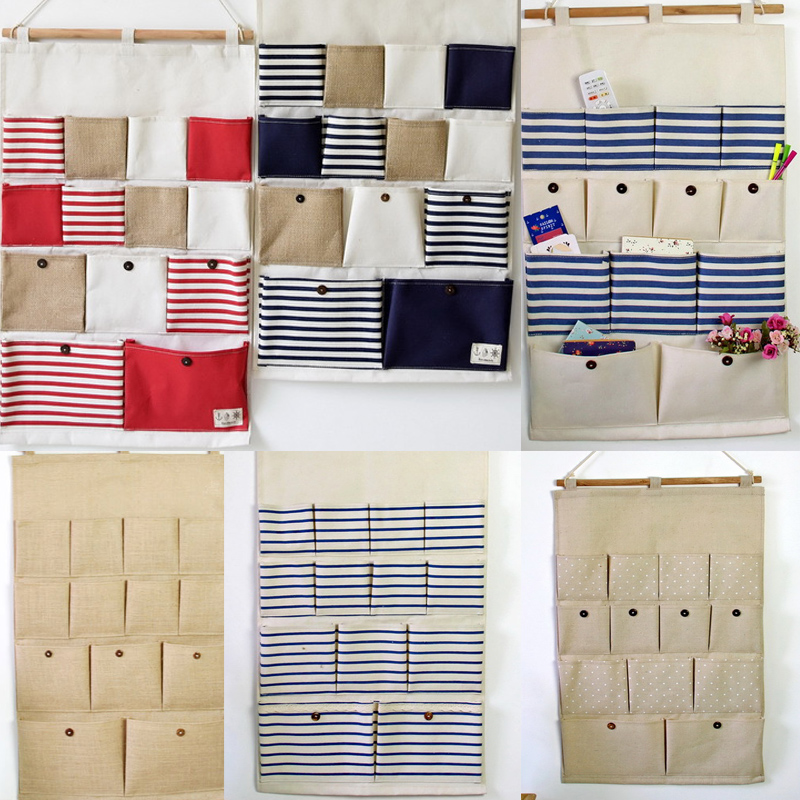 Storage Bag 13 Pockets Wall Hanging Bags Multi-layer Wall Sundries Organizer Doors Sundries Organizer & Compare Prices on Door Pocket Organizer- Online Shopping/Buy Low ... Pezcame.Com