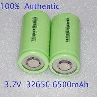 1-2 יחידות UNITEK 3.7 v ICR תא ליתיום יון 32650 ליתיום נטען 6500 mah נטענת לפנס led לפיד וסוללה