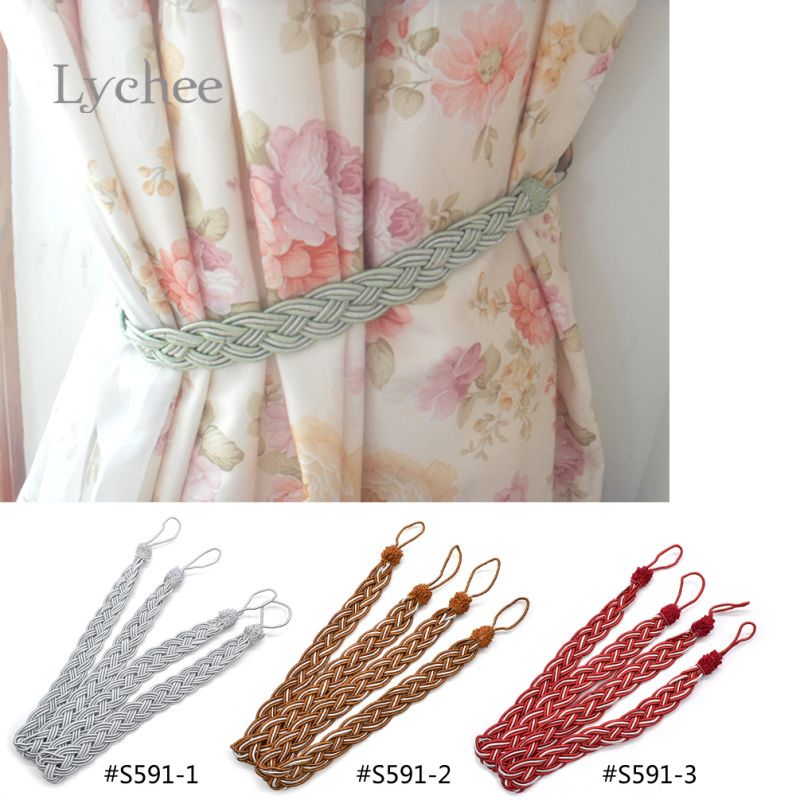 Lychee 1 Piece New Arrival Cotton Rope Curtain Fringe Tape