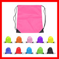 (100pcs/lot) size 35x40cm Wholesale 210D polyester drawstring backpack