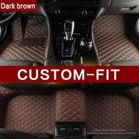 Custom fit car floor mats for Ford Edge Escape Fusion Mondeo Ecosport Explorer Focus Fiesta car styling carpet liner