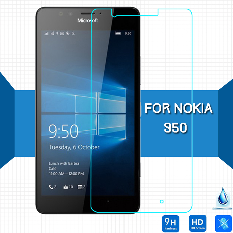 For Microsoft lumia 950 XL Tempered glass Screen Protector 2.5 9h Safety Protective Film on Lumia 950XL Dual Sim