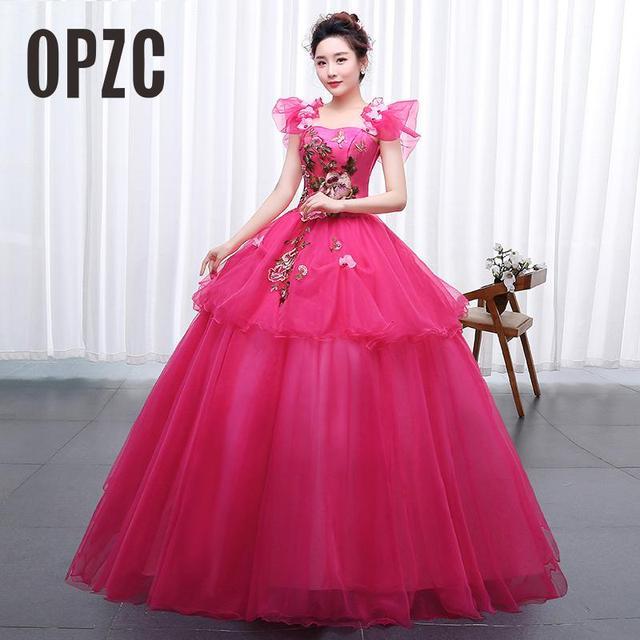 Velnosa Color yarn Princess New Wedding Dress 2017 Spring Korean Style for Party  Chorus host Fleabane Bitter Stage Studio Photo cc5baa23f2b8
