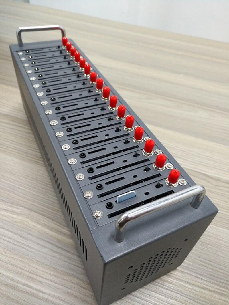 4g modem bulk sms macchina sim7100E 16 porta gsm pool di modem per la massa di sms marketing supporto a comando IMEI cambiamento