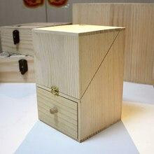 Сторге коробка для косметических или инструмент натурального дерева краткое украшения Eco-Friendly style