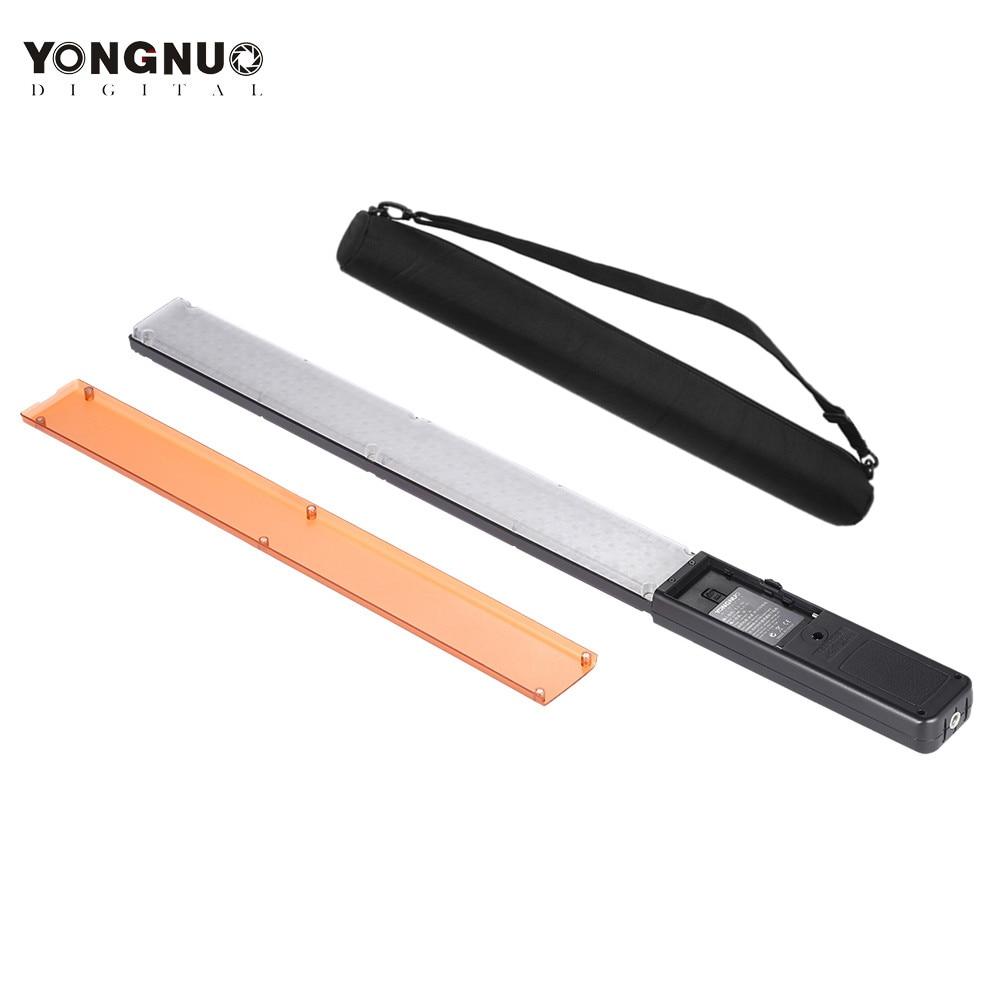 YONGNUO YN360 ручной светодиодный видео 3200 К-5500 К RGB красочные фото светодиодный свет фотографии studio YN 360 палочка
