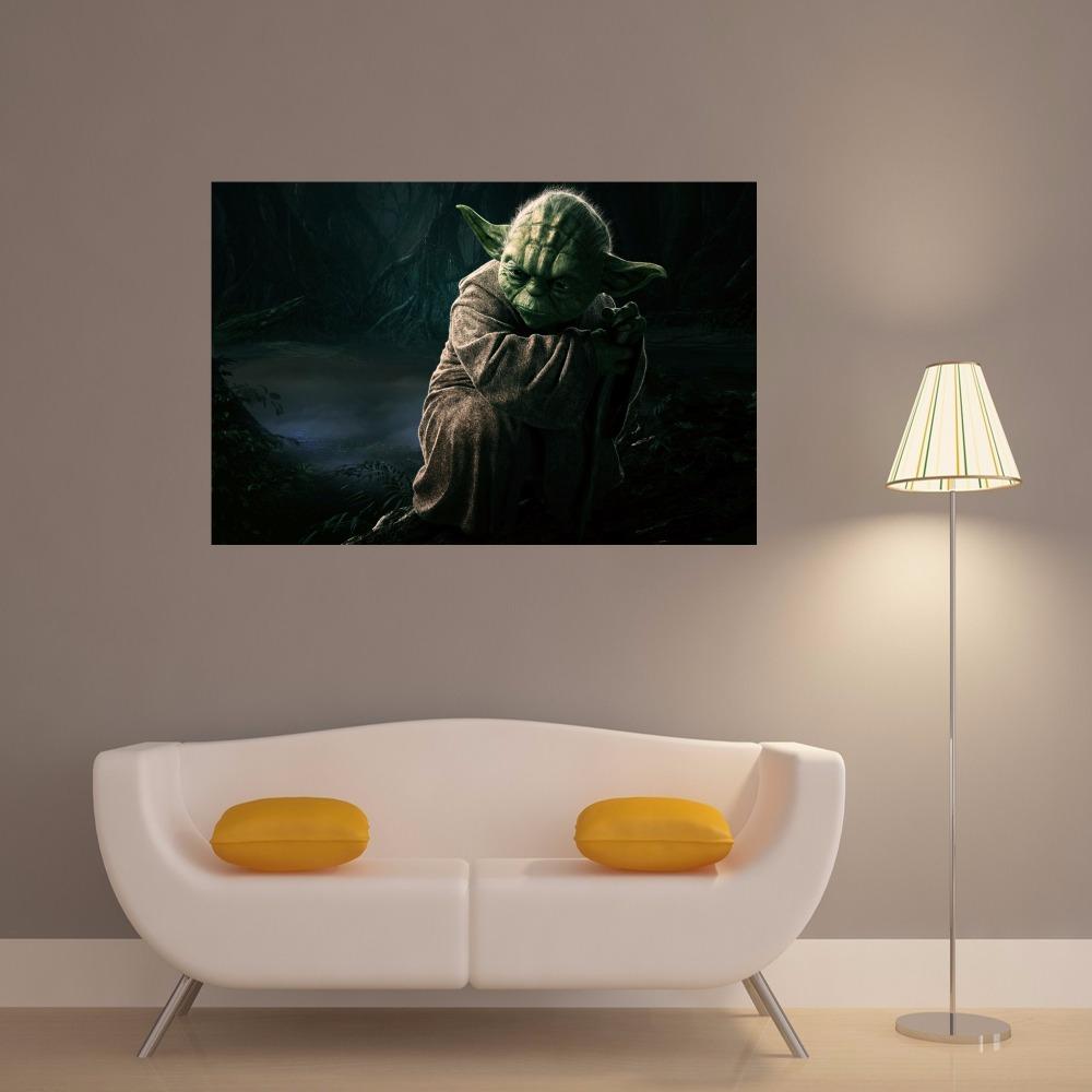 Online Get Cheap Mestre Yoda Cita Ccedil Atilde O Aliexpress Com  ~ Decoração De Quarto Star Wars E Pintura Quarto De Menina