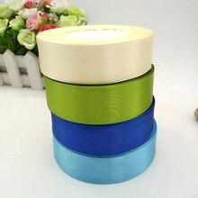 HL 4 rolls (100 yards) 25mm width satin ribbon wedding decoration crafts packing belt DIY weaving colors A214