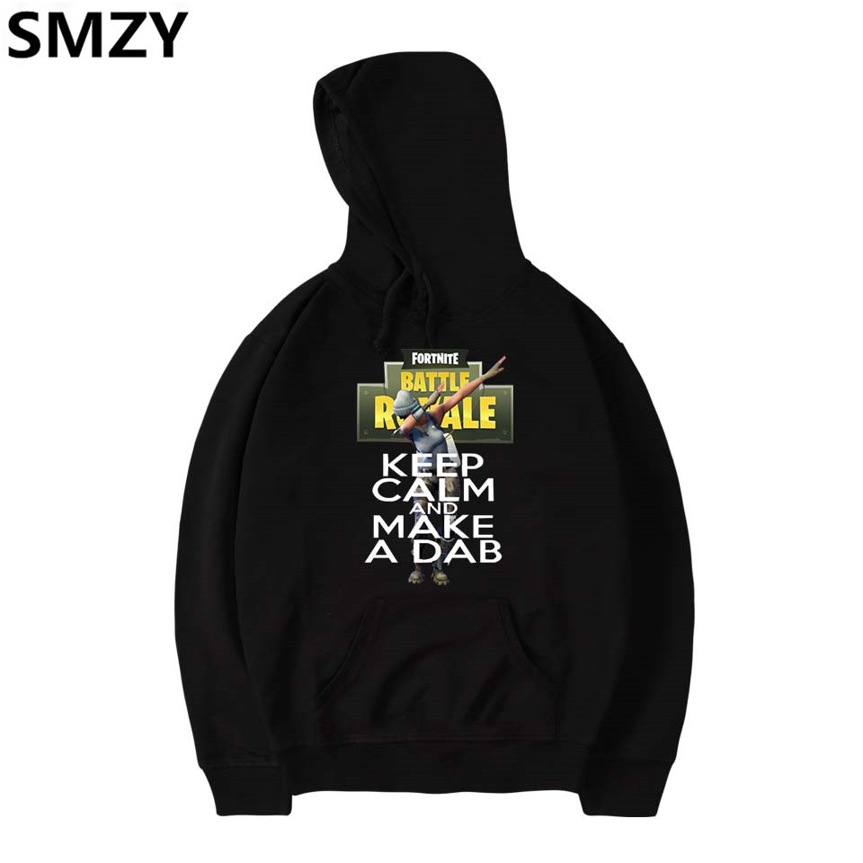 SMZY Fortnite Hooded Hoodies Sweatshirt Tops Pullovers Fashion Pop TGA FPS Game Sweatshirts Men Long Cotton Casual Fans Clothes