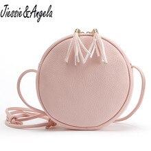 New Women Handbag Casual Bolsa Feminina Ladys Round Candy Color Small Bag Handbags Famous Brands Vintage Bags