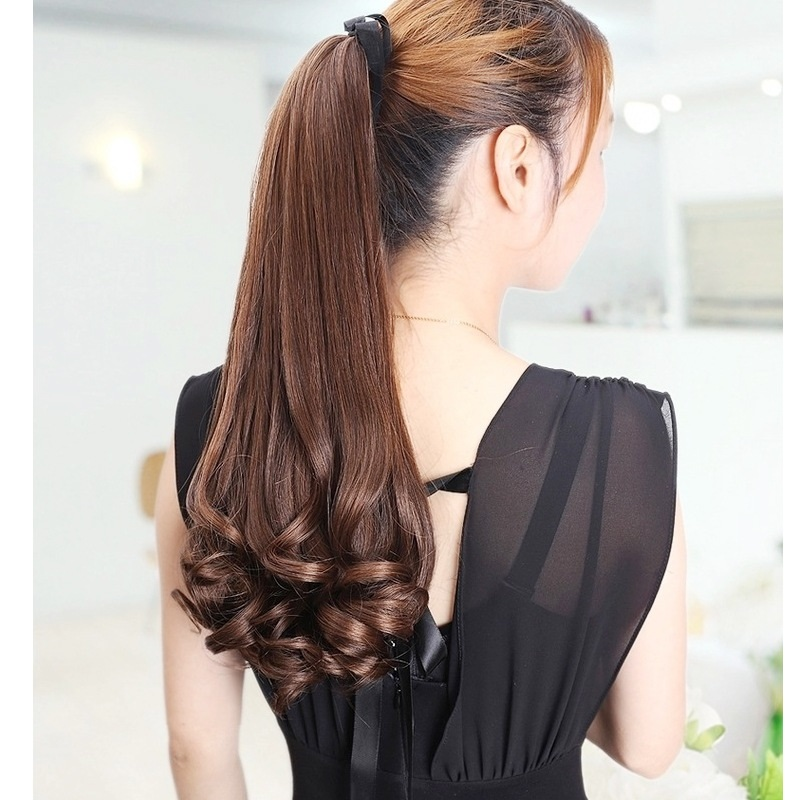 """hot fashion 14"""" 35cm curly bleach"""