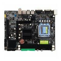 Brand New For Inter 945GC Motherboard LGA 775 Socket 2*DDR2 667/800MHz Support 775 Core/Pentium/Celeron 216*168mm