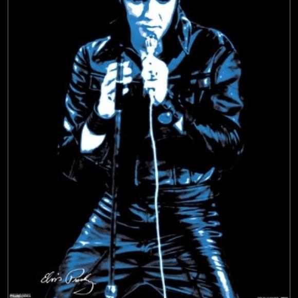 Elvis Presley – 68 Comeback Special Laminated & Framed Poster (16 x 20)