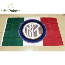 Italy FC Internazionale Milano 3ft*5ft (90*150cm) Size Christmas Decorations for Home Flag Banner Type C Gifts