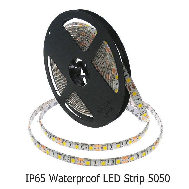 RGB 5050 LED Strip 12V Decoración flexible Iluminación 300LED Cinta - Iluminación LED