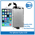 5PCS/LOT LCD For iPhone 6 Plus LCD Display Touch Screen Digitizer Full Assembly Grade AAA quality + Home Button +Front Camera
