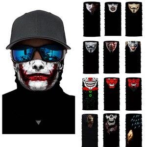 Seamless Skull Skeleton Joker