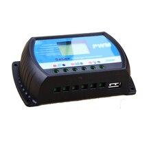 Pwm 12 V 24 V 30A controlador de carga Solar con 0.8A 5 V de salida USB gran pantalla LCD para un máximo de 50 V 720 W Panel Solar RTD-30A nueva