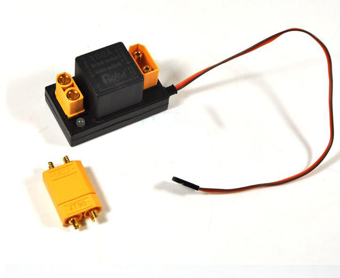 RC aircraft EME electric start remote control switch RCEXL brush motor electronic switch 100A for RC model airplane spare parts rc aircraft eme electric start remote control switch rcexl brush motor electronic switch 100a for rc model airplane spare parts