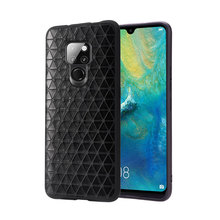 Fitted cases For Huawei Mate 20 case pro rs x Phone Case Leather phone bag Men Women Water Proof Business Geometric Pattern
