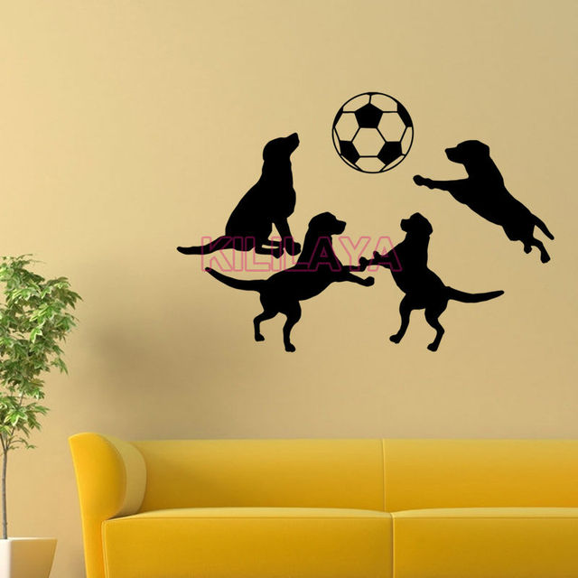 wall stickers dogs vinyl wall sticker pet walls decal home decor