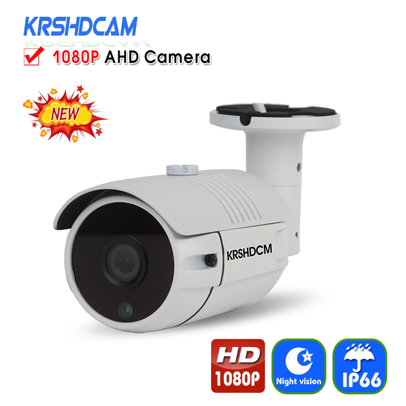 Full HD 1080P AHD Camera Bullet Outdoor Security CCTV 3.6mm lens 36PCS LED Night Vision Waterproof IP66 Home Video Surveillance krshdcam cctv security 1080p ahd camera 4 in 1 bullet camera 3 6mm lens waterproof ip66 outdoor video surveillance night vision