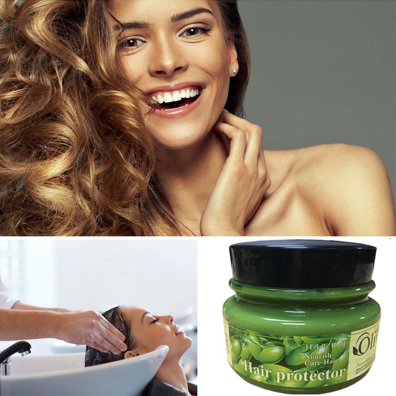 Olivenolje Essece Behandling for Frizzy Dry Unmanageable Hair, Split - Hårpleie og styling - Bilde 3