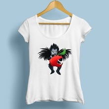 DEATH NOTE L FUNNY tshirt women (6 styles)