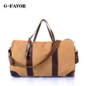 cfb0e88615 G-FAVOR Canvas Weekender Bag Duffel Travel Bag Hand