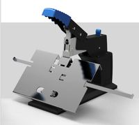 A3 Manual Stitcher Stapler Flat Nail / Saddle Stitch Stapler Binding Machine