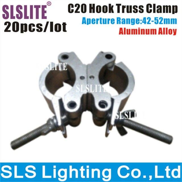 20 STKS/LOTstage Licht Klem Swivel Dubbele Coupler Aluminium ...