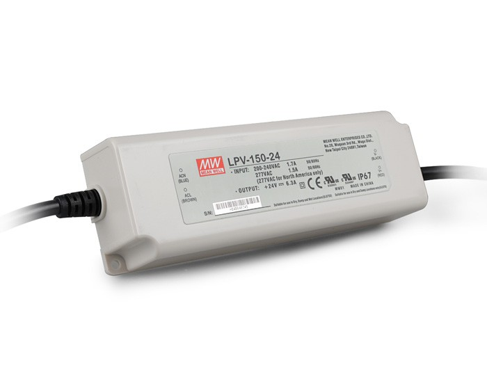 Original MEAN WELL 150W Single Output Constant Voltage LED Driver Switching Power Supply LPV-150 original meanwell led driver apc 16 700 16 8w 9 24v 700ma led power supply constant current mean well apc 16 ip42