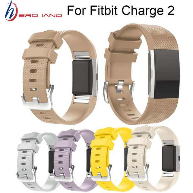 Hero Iand Best prezzo Wristband Cinturino Da Polso Smart Watch Band Strap Morbido Cinturino Di Ricambio Fascia Smartwatch Per Fitbit Carica 2