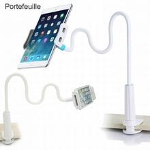 """Portefeuille telefon komórkowy uchwyt na tablet wspornik dla leniwych typu """"gęsia szyja"""" 360 długie ramię dla iPhone iPad mini air 2 Nintendo przełącznik do montażu na stojaku"""