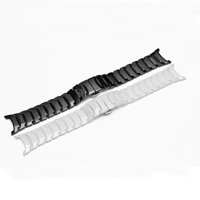 2016 новых оптовой ремни, 15*9 мм 23*16 мм Керамические часы ремешок браслет мужчин и женщин моды ремешки для RD6037 продвижение