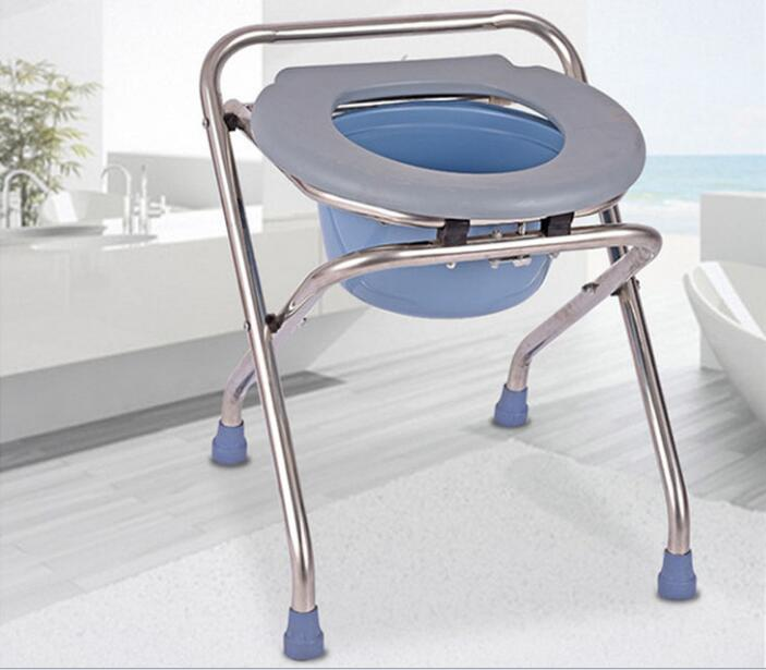 High quality Folding the old Commode chair pregnant woman bathroom ...