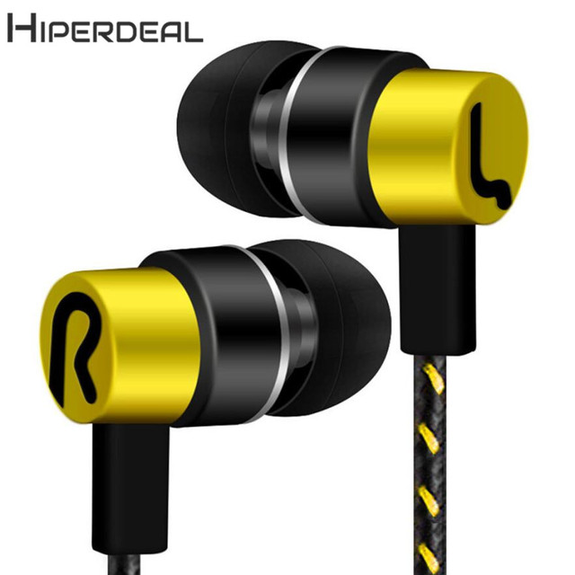 HIPERDEAL New  Universal 3.5mm In-Ear Stereo Earbuds Earphone For Cell Phone 18Jan24 Drop Ship