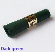 Guardanapos verdes escuros do poliéster liso dos guardanapos para o enrugamento e a mancha da decoração da tabela do hotel e do restaurante do casamento resistentes