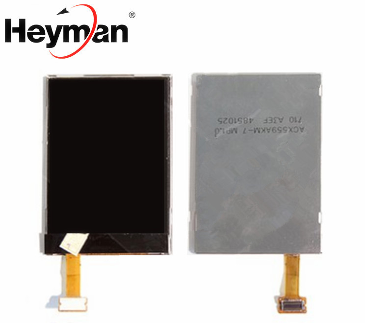 Heyman LCD for Nokia 3120c,<font><b>3600s</b></font>,5310,6500c,7310sn,7610sn,E51, E90 (outside) LCD display screen Replacement image