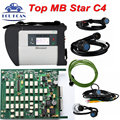 Top Quality Mb Star C4 SD Connetct 4 Can Work With Xentry Developer MB Star C4 Full Chip Star C4 SD C4 Diagnostic Tool DHL Free