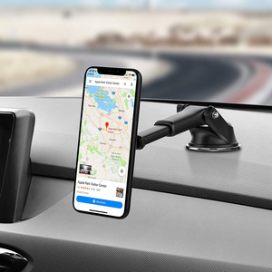 Image 5 - Yianerm Magnetic Car Phone Mount Holder For iPhone Xs Max Dashboard Suction Cup Holder with Telescopic Arm in Car For Samsung S9